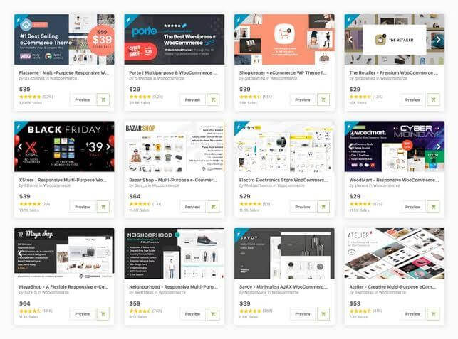 Secure eCommerce Themes