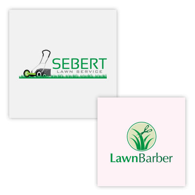 Lawn Care Logo Designs