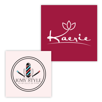 Hair Salon Logo Designs