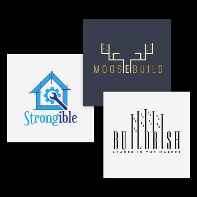 Construction Logo Design, General Contractor Logo Design - ProDesigns
